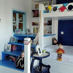 小戶型書柜輕松愉悅的地中海兒童房微笑著走來效果圖