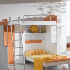 简约装饰组合家具儿童房图大全效果图
