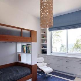 混搭風格三居室兒童房嬰兒床裝修圖片裝修效果圖