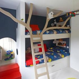 儿童房儿童床图片效果图