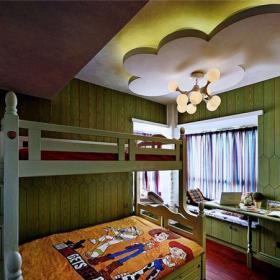 混搭風格五居室兒童房床裝修效果圖