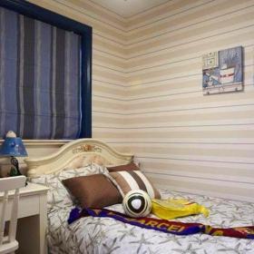 地中海風格二居室兒童房書架裝修效果圖大全