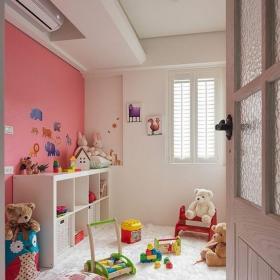 混搭風格三居室兒童房壁紙裝修效果圖大全