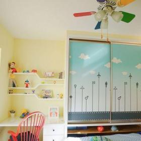 現代簡約兒童房飄窗設計效果圖欣賞