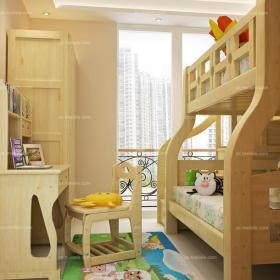 儿童房充满趣味的儿童房装修效果图