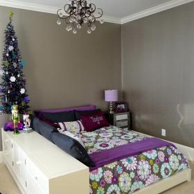 100㎡上用品床100㎡床上用品兒童房圣誕氣息裝修設計效果圖