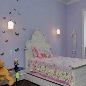 小户型儿童房创意床装修图效果图