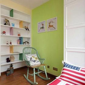 120平米混搭风格三居室混搭清新儿童房设计图片效果图