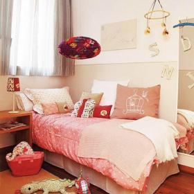 兒童房床上用品小蜥蜴爬行的世界效果圖大全