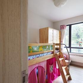 中式风格三居室儿童房窗帘装修效果图欣赏