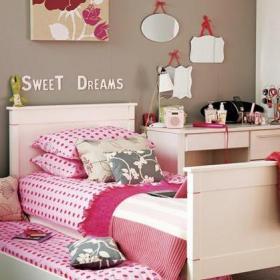 臥室臥室粉色兒童房裝修效果圖