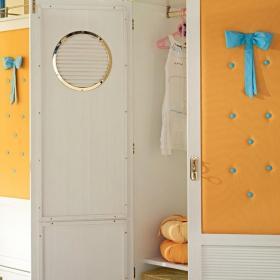 兒童房間衣柜效果圖