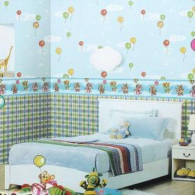 儿童家具儿童床儿童书柜儿童衣柜儿童房儿童房窗帘儿童房吊顶儿童卧室装修效果图儿童卧室设计图片