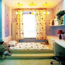 現代風格小戶型兒童房間布置圖片現代風格兒童床圖片裝修效果圖