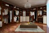 简约欧式风格衣帽间索菲亚衣柜装修效果图简约欧式风格衣柜图片