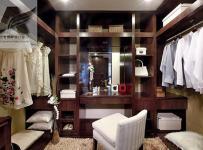 化妆镜梳妆台椅凳244㎡四居室新中式风格衣帽间装修图片新中式风格开放式衣柜图片效果图大全