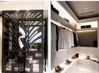 西式古典三居室衣帽間儲物柜裝修效果圖大全