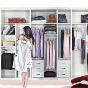 衣柜臥室衣柜收納柜衣帽間布置圖效果圖