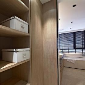 新中式风格样板房衣帽间装修效果图大全