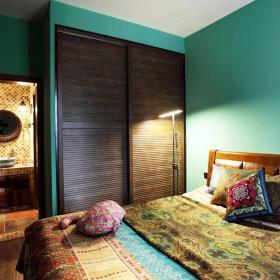 60平米東南亞風格三居室東南亞衣帽間設計圖片效果圖