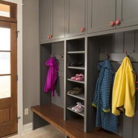 新古典风格200平米别墅客厅简洁主卫改衣帽间设计图效果图