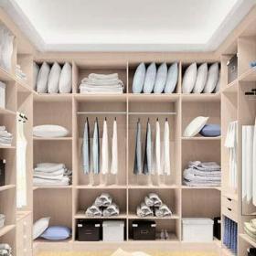 衣柜臥室衣柜收納柜衣帽間裝飾圖效果圖