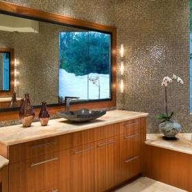 中式风格别墅复式公寓豪华欧式客厅主卫改衣帽间设计图效果图
