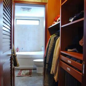 整體衣柜衛生間吊頂衛生間隔斷吊頂衣柜130平米躍層美式鄉村衣帽間裝修圖片美式鄉村浴缸圖片效果圖