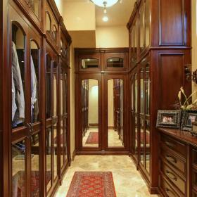 更衣室實木衣柜衣帽間門衣柜衣柜門簡約風格衣帽間裝修圖片效果圖大全
