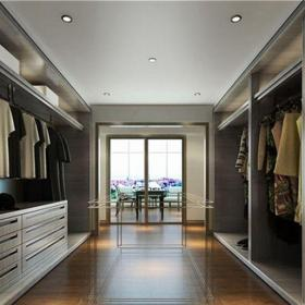 中式古典四居室衣帽间窗帘装修效果图欣赏