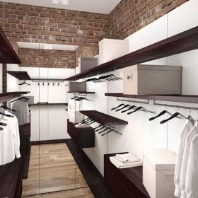 二居室10-15萬loft風格衣帽間圖裝修裝飾圖效果圖