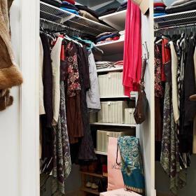 30平米單身公寓宜家一室一廳衣帽間裝修圖片效果圖欣賞