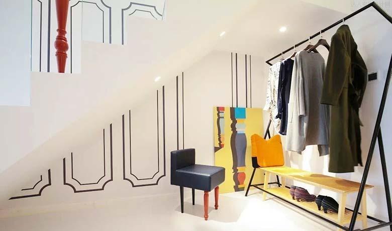 二居室公寓混搭风格混搭衣帽间设计图片效果图