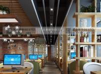 德阳现代网咖网吧装修设计重庆北鼎装饰装修效果图