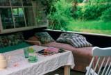 120㎡入户花园北欧漫花朵朵下的度假风庭院餐厅效果图大全