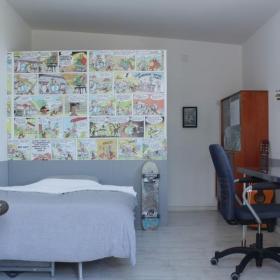 北欧小卧室隔断墙欣赏效果图
