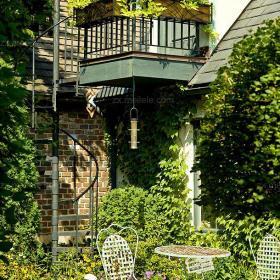 入戶花園簡約北歐風格點綴的花園效果圖大全