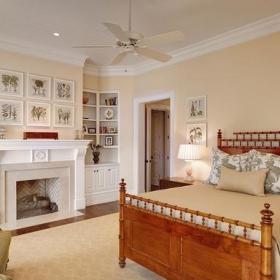 北歐風格臥室三層雙拼別墅浪漫臥室兒童小臥室效果圖