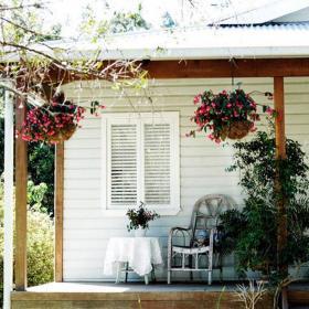 別墅120㎡入戶花園北歐享受歲月靜好的花園角落效果圖欣賞