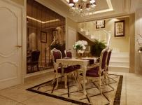 裝飾畫歐式家具家具餐桌餐椅背景墻餐桌餐椅139㎡大戶型歐式古典風格餐廳背景墻裝修效果圖歐式古典風格餐