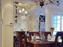 歐式古典風風格80平米兩室一廳裝修效果圖