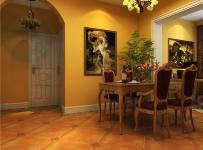 142㎡四居歐式古典風格餐廳裝飾畫裝修效果圖歐式古典風格餐桌餐椅圖片