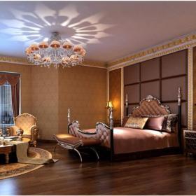 欧式别墅床头背景墙头柜背景墙吊顶欧式古典床头柜大户型欧式古典风格卧室背景墙装修效果图欧式古典风格床尾