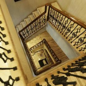 歐式古典600㎡別墅簡約歐式風格復式樓梯裝修圖片裝修效果圖