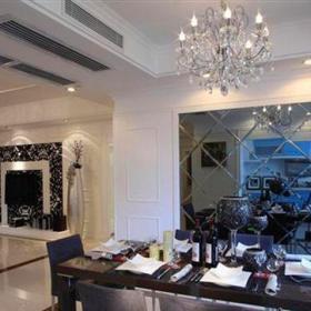 歐式古典四居室餐廳餐桌裝修效果圖大全
