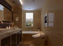 现代简约三居室卫生间吊顶装修图片效果图