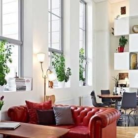 简约风格公寓富裕型120平米沙发图片效果图