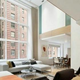 紐約現代復式住宅設計效果圖