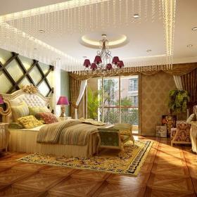 電視背景墻背景墻復式樓歐式風格復式臥室電視墻裝修效果圖歐式風格吊頂圖片