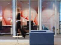 现代风格办公室隔断设计图片现代风格办公沙发图片效果图大全